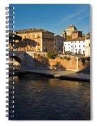 Isola Tiberina Spiral Notebook