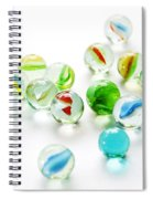 Isolated Marbles Spiral Notebook