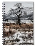 Isolation In Yellowstone Spiral Notebook