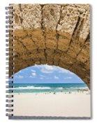 Israel Caesarea Aqueduct  Spiral Notebook