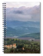 Israel Latron Monastery And Winery Spiral Notebook