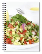 Israeli Salad  Spiral Notebook