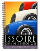 Issoire France Grand Prix Historique Spiral Notebook