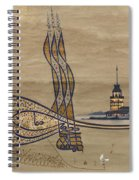 Istanbul Spiral Notebook
