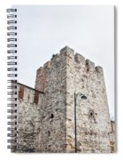 Istanbul City Wall 01 Spiral Notebook
