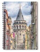 Istanbul Galata Tower Spiral Notebook