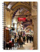 Istanbul Grand Bazaar 09 Spiral Notebook