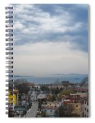Istanbul Panorama Hdr Spiral Notebook