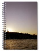 Istanbul Sunset Spiral Notebook