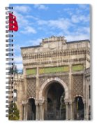 Istanbul University 02 Spiral Notebook