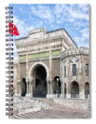 Istanbul University 03 Spiral Notebook