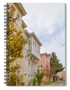 Istanbul Wooden Houses 01 Spiral Notebook
