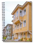 Istanbul Wooden Houses 02 Spiral Notebook