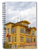 Istanbul Wooden Houses 04 Spiral Notebook
