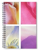 It Is All In Petals Spiral Notebook