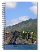 Italian Coastline Spiral Notebook