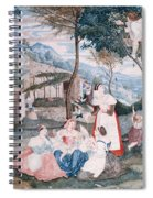 Italian Country Life Spiral Notebook