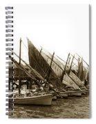 Italian Fishing Boats Fishermen's Wharf San Francisco Circa 1903 Spiral Notebook