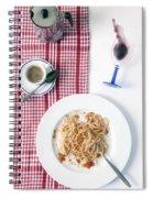 Italian Food Spiral Notebook