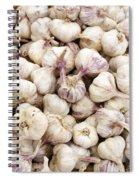 Italian Garlic Bulbs Spiral Notebook