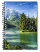 Italian Island Spiral Notebook