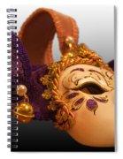 Italian Masquerade Spiral Notebook