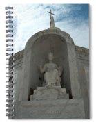 Italian Mausoleum Spiral Notebook