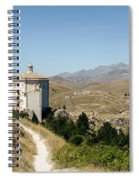 In That Quiet Earth - An Italian Landscape  Spiral Notebook