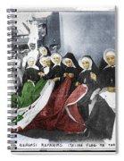 Italian Nuns Spiral Notebook
