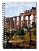 Italian Ruins 1 Spiral Notebook