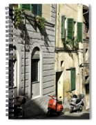 Italian Scooters Spiral Notebook