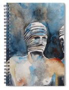 Italian Sculptures 03 Spiral Notebook