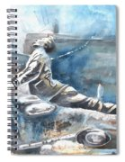 Italian Sculptures 04 Spiral Notebook