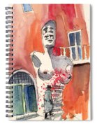 Italian Sculptures 05 Spiral Notebook