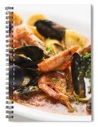 Italian Seafood Stew Spiral Notebook