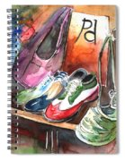 Italian Shoes 01 Spiral Notebook
