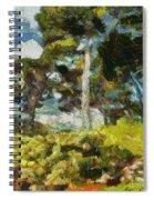 Italian Stone Pine Spiral Notebook