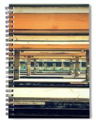 Italian Train Station Spiral Notebook