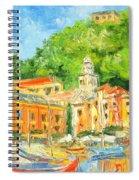 Italy - Portofino Spiral Notebook