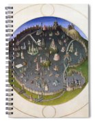 Italy: Rome, 15th Century Spiral Notebook