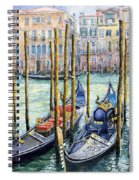 Italy Venice Lamp Spiral Notebook