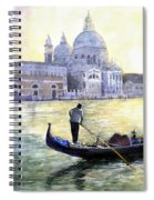 Italy Venice Morning Spiral Notebook