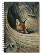 Fox - It's A Big World Out There Spiral Notebook