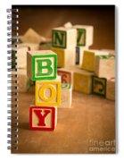 Its A Boy Spiral Notebook