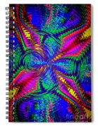 It's A Rainbow World Spiral Notebook