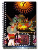 It's A Small World With Dancing Mexican Character Spiral Notebook