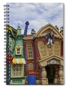 It's A Toontown Christmas Spiral Notebook