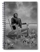 It's All In Black And White Spiral Notebook