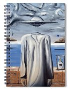 Its All In Your Head Spiral Notebook