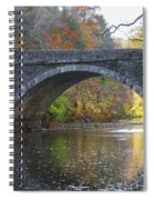 It's Autumn At The Valley Green Bridge Spiral Notebook